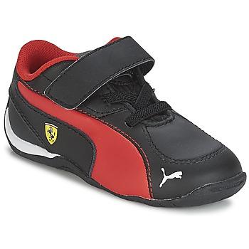 Boty Chlapecké Nízké tenisky Puma DRIFT CAT 5 L SF V KIDS Černá / Červená
