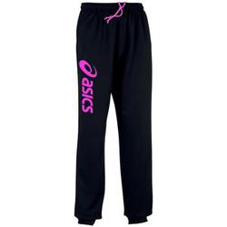 Textil Teplákové kalhoty Asics Sigma-Pantalon Black/Flash Pink