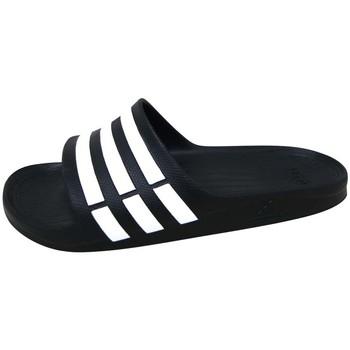 Boty Sportovní sandály adidas Performance Duramo Slide Noir / Blanc / Noir
