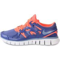 Boty Ženy Módní tenisky Nike Free Run 2 Ext Blue Legend Bleu/Orange
