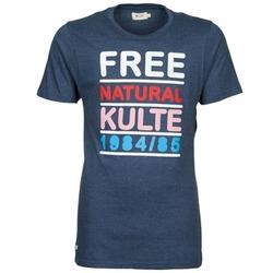 Textil Muži Trička s krátkým rukávem Kulte AUGUSTE FREE Modrá