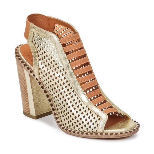 Boty Ženy Sandály Marc by Marc Jacobs SUSANNA Zlatá