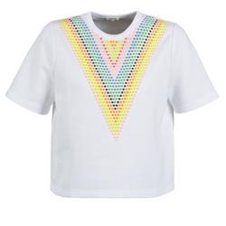 Textil Ženy Mikiny Manoush DOUDOU STAR Bílá