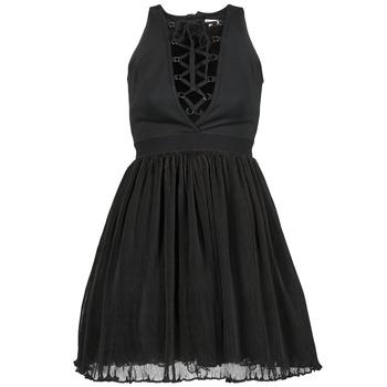 Textil Ženy Krátké šaty Manoush MARILACET Černá