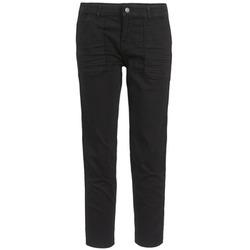Textil Ženy Tříčtvrteční kalhoty Cimarron CLAUDIE Černá