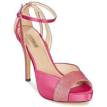 Boty Ženy Sandály Menbur ARENALES Růžová