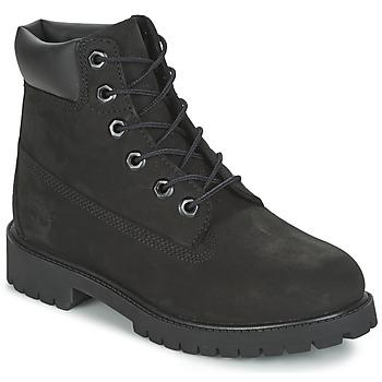 Boty Chlapecké Kotníkové boty Timberland 6 IN PREMIUM WP BOOT Černá