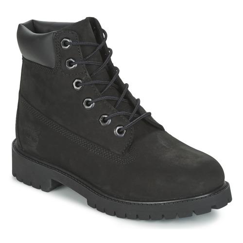 Boty Děti Kotníkové boty Timberland 6 IN PREMIUM WP BOOT Černá