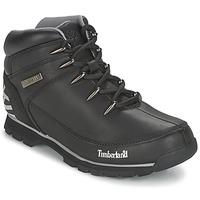 Boty Muži Kotníkové boty Timberland EURO SPRINT HIKER Černá