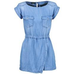 Textil Ženy Overaly / Kalhoty s laclem Kookaï VEDITU Modrá