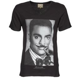 Textil Muži Trička s krátkým rukávem Eleven Paris MARLTON M Černá