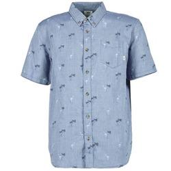 Textil Muži Košile s krátkými rukávy Vans HOUSER SS Modrá