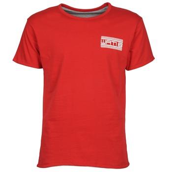 Textil Muži Trička s krátkým rukávem Wati B WATI CREW Červená