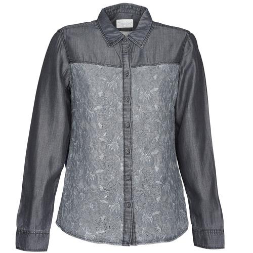 Textil Ženy Košile / Halenky Esprit Denim Blouse Šedá