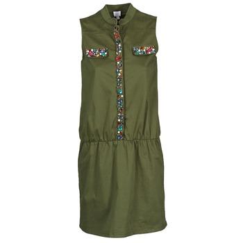 Textil Ženy Krátké šaty Alba Moda HELDBLUSENKLEID Khaki