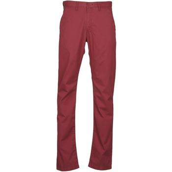 Textil Muži Mrkváče Lee CHINO OXBLOOD Červená