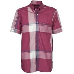Textil Muži Košile s krátkými rukávy Pierre Cardin 538536226-860 Slézová / Fialová