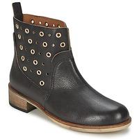 Boty Ženy Kotníkové boty BOSS Casual 50266292 Černá