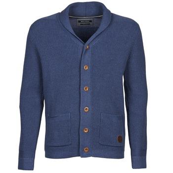 Textil Muži Svetry / Svetry se zapínáním Marc O'Polo RAMUN Modrá