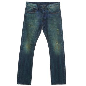Textil Muži Rifle rovné Ünkut Six Modrá