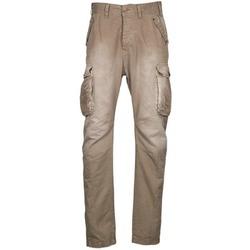 Textil Muži Cargo trousers  Freeman T.Porter PUNACHO COTTON GAB CHOCOLATE CHIP Hnědá / Béžová