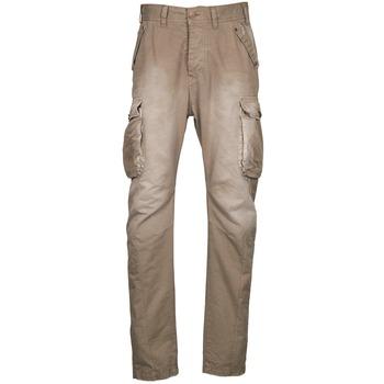 Cargo trousers  Freeman T.Porter PUNACHO COTTON GAB CHOCOLATE CHIP