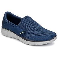 Boty Muži Street boty Skechers EQUALIZER Tmavě modrá