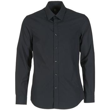 Textil Muži Košile s dlouhymi rukávy G-Star Raw CORE Černá