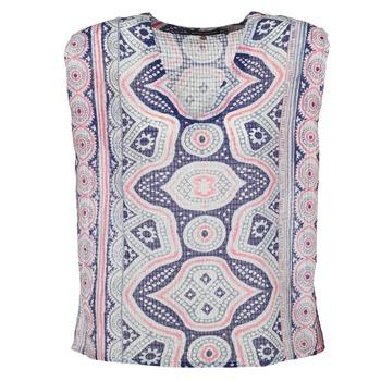Textil Ženy Halenky / Blůzy Antik Batik JAGGA Modrá