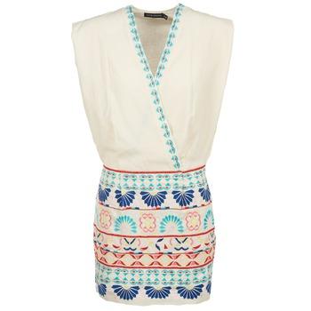Textil Ženy Krátké šaty Antik Batik POLIN Bílá / Vícebarevná