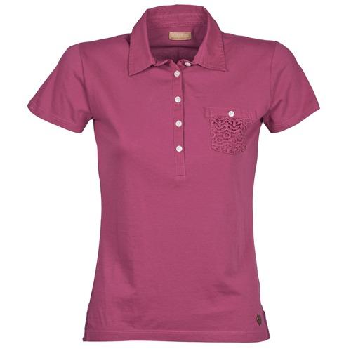 Textil Ženy Polo s krátkými rukávy Napapijri EZE Růžová