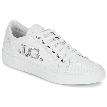 Boty Ženy Nízké tenisky John Galliano 7977 Bílá