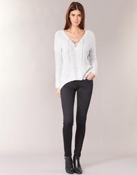 Textil Ženy Rifle skinny Pepe jeans SOHO Černá