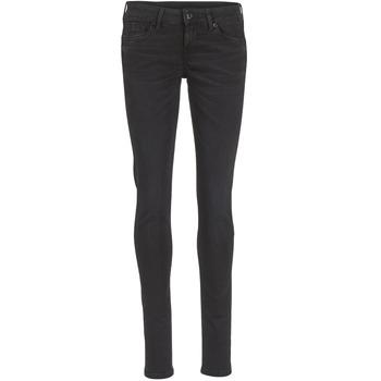 Textil Ženy Rifle slim Pepe jeans SOHO Černá