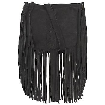 Taška Ženy Kabelky s dlouhým popruhem Pepe jeans BELL Černá