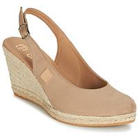 Boty Ženy Sandály Betty London TECHNO Béžová