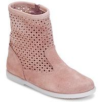 Boty Dívčí Kotníkové boty Citrouille et Compagnie BOREAL Růžová