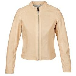 Textil Ženy Kožené bundy / imitace kůže Oakwood 61848 Béžová