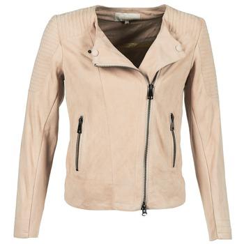 Textil Ženy Kožené bundy / imitace kůže Oakwood 61903 Růžová / Světlá