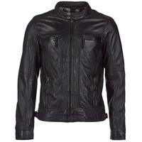 Textil Muži Kožené bundy / imitace kůže Oakwood 60901 Černá