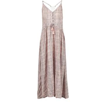 Textil Ženy Společenské šaty Rip Curl SNAKE Růžová