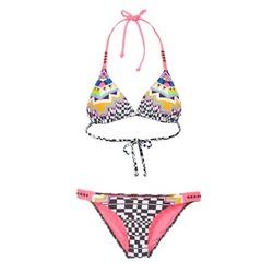 Textil Ženy Bikini Rip Curl CANCUN TRISET Vícebarevná