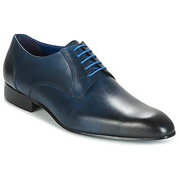 Boty Muži Šněrovací polobotky  Carlington EMRONE Tmavě modrá