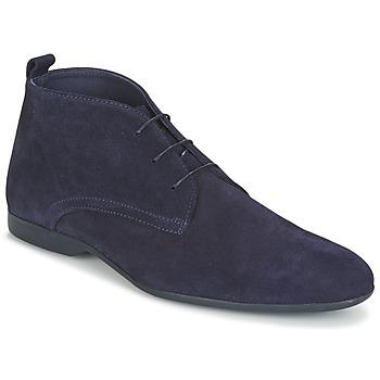 Boty Muži Kotníkové boty Carlington EONARD Modrá