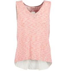 Textil Ženy Tílka / Trička bez rukávů  Les Petites Bombes NODOLA Korálová