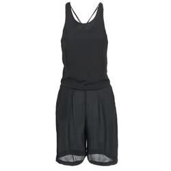 Textil Ženy Overaly / Kalhoty s laclem Religion NOIZE Černá
