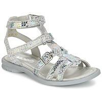 Boty Dívčí Sandály Mod'8 JUJU Stříbřitá