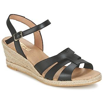 Boty Ženy Sandály So Size ELIZA Černá