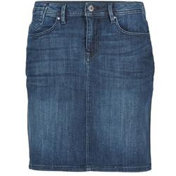 Textil Ženy Sukně Esprit MAFGA Modrá