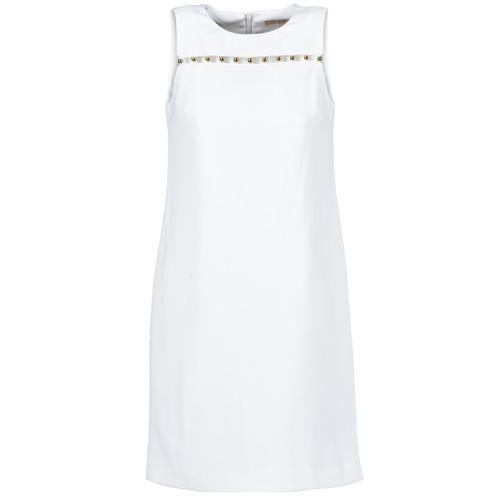 Textil Ženy Krátké šaty MICHAEL Michael Kors MS68W2L3GZ Bílá